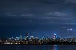 artnorama - Night Lights Vancouver
