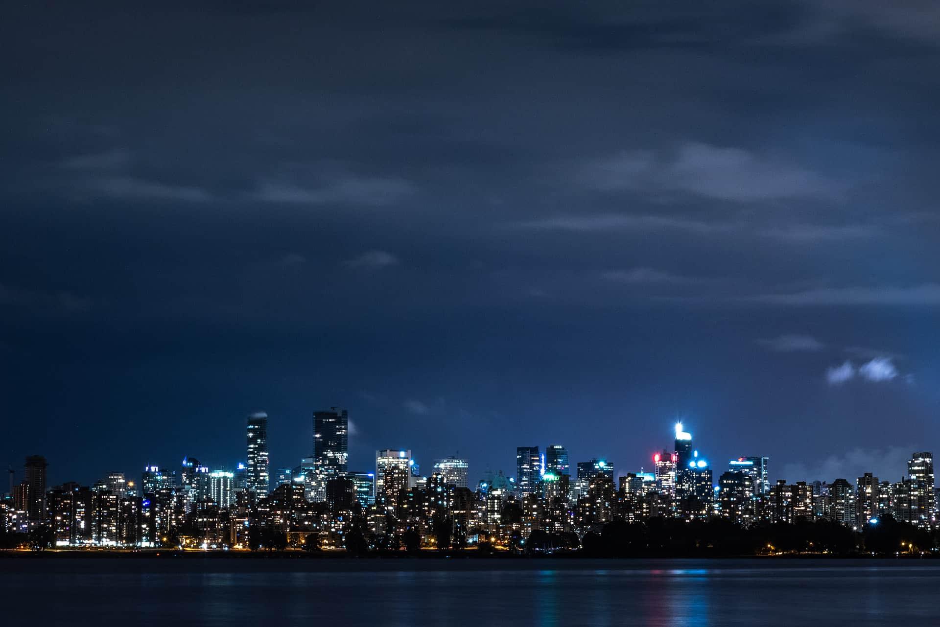 artnorama - Night Lights Vancouver